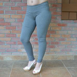 8ac44f6d1b66 Champion Pants - Duo Dry Leggings c9 by Champion NWT Heather Grey